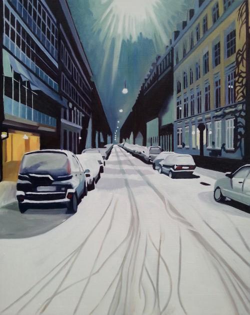 Vinter på Nørrebro