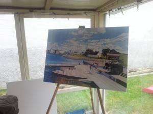 Billede af maleri